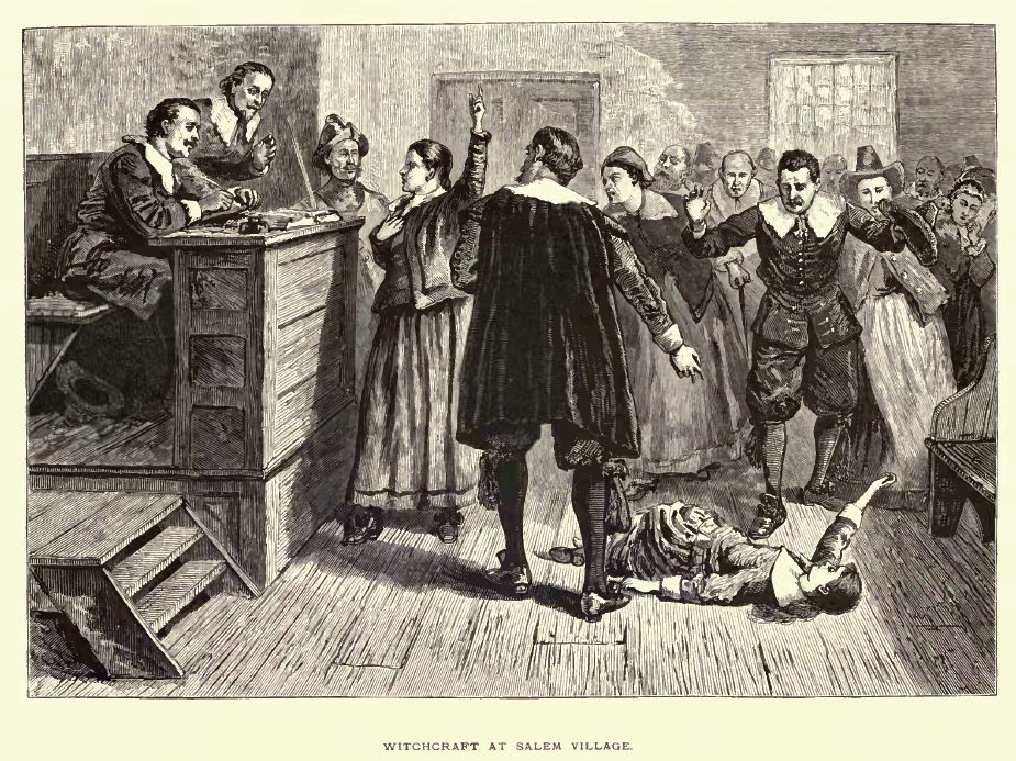 "the salem witch trials and the Despite numerous debunkings, the idea that salem's ""witches"" burned at the stake persists everywhere from online forums to episodes of ""the simpsons"" joan of arc and tales of european witch hunts may."